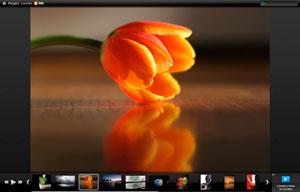 Ejemplo de PicLens