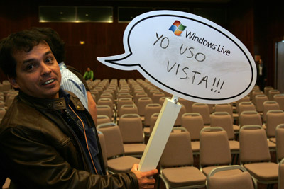 Ricardo Galli usa Windows Vista