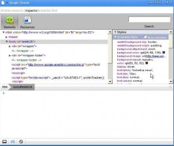 chrome-javascript-console