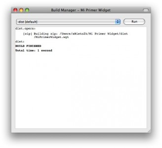 widgetbuild
