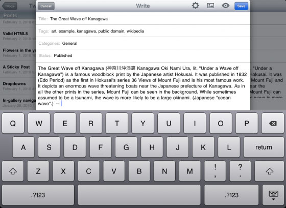 wordpress-ipad-compose